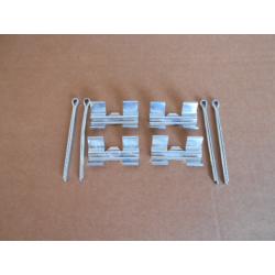 Kit montage plaquettes  frein avant