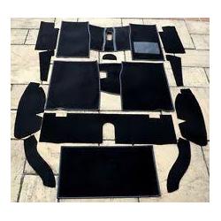 set de tapis complet noir